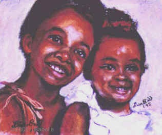 Portrait in Pastel by Lisa Bell.  Portrait from a photo.  12x16""